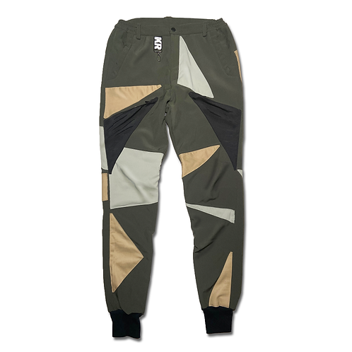 1/1 Forest Fractal Cargo Joggers