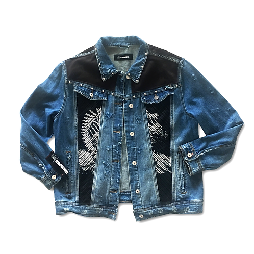 1/1 'Protect The Source' Denim Jacket