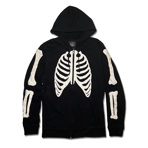 Bone Light Zip Hoodie