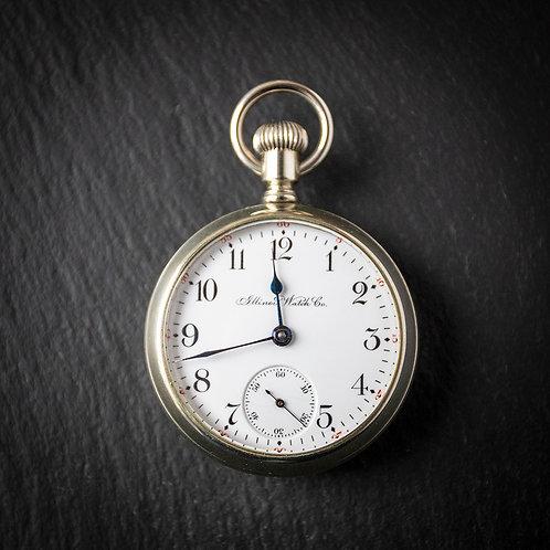 Illinois Watch Co Springfield Display Case 17 J Pocket Watch