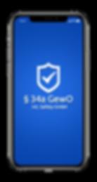 § 34a GewO Lern App Sachkundeprüfung IHK Bewachungsgewerbe Sicherheitsdienst Deeskalationstraining Security Ausbildung