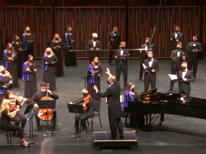 At BYU, 320 Students in Six Choirs Kept Singing Through the Pandemic. How Did They Do It?