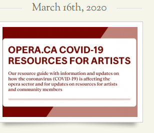 Heroes of COVID-19: Resources for Canadian Artists