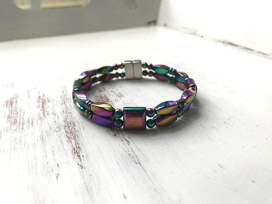 Double Strand Color Shift Bracelet