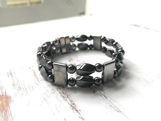 Double Strand Chrome Bracelet