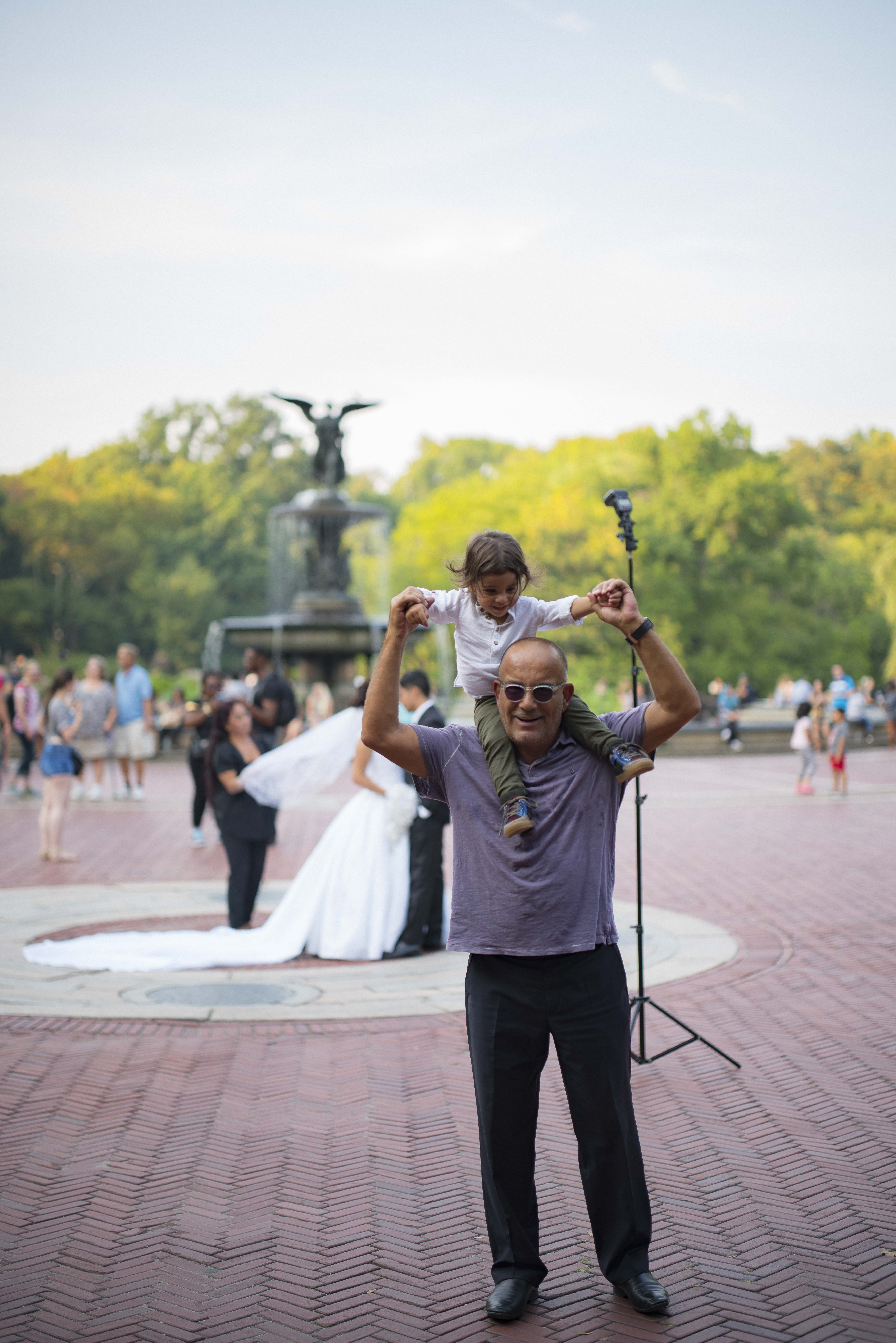 Family shoot in Central Park