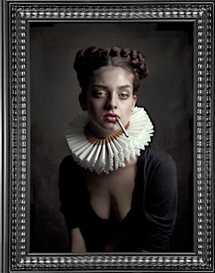 Barbara Van Den Berg, photographic portrait series, ed of 30, c-print, Public House of Art, Amsterda