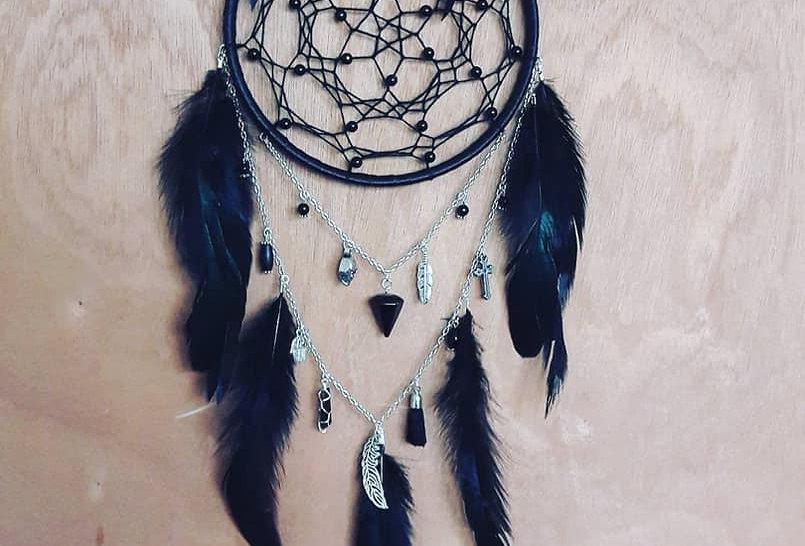 Gothic charm dreamcatcher