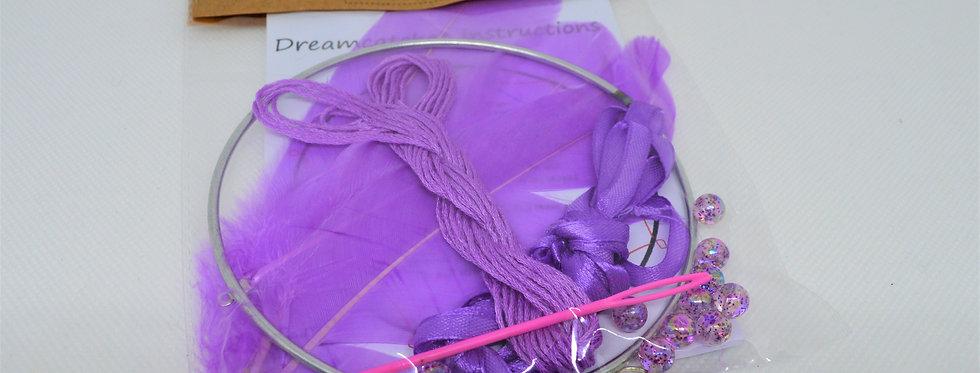 Lavender DIY dreamcatcher kit
