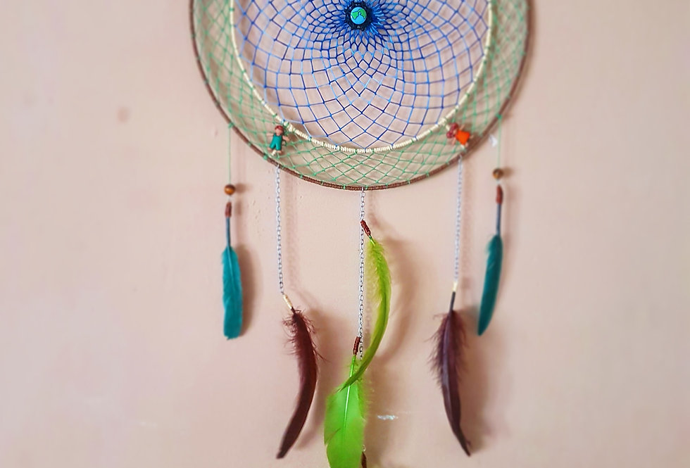 Colours of the world dreamcatcher