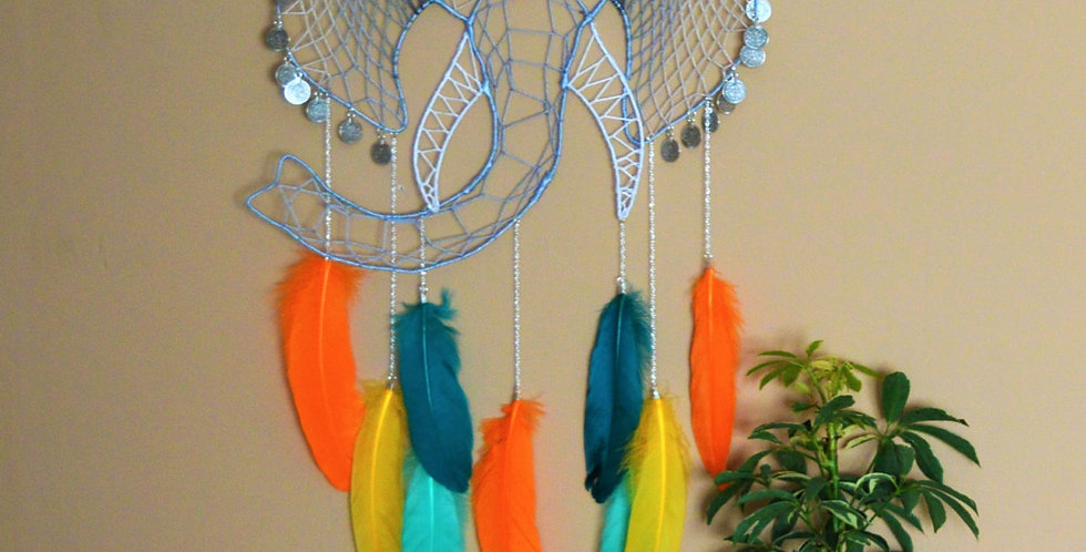 Elephant dreamcatcher