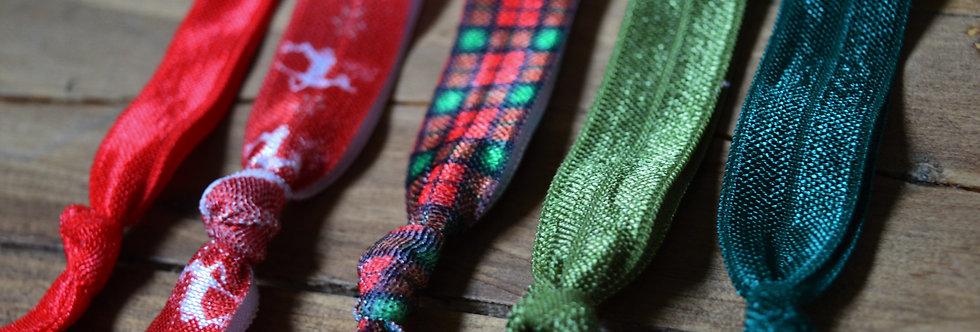 Christmas hair tie package