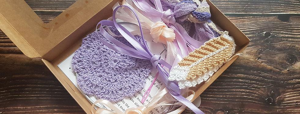 Purple lace dreamcatcher DIY kit