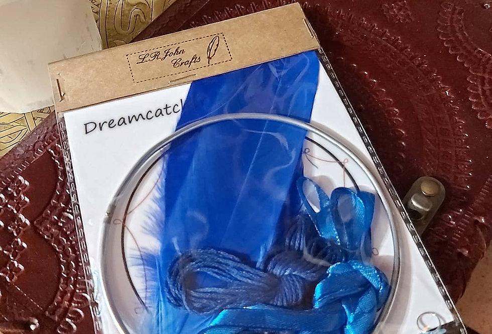 Dark blue DIY dreamcatcher kit