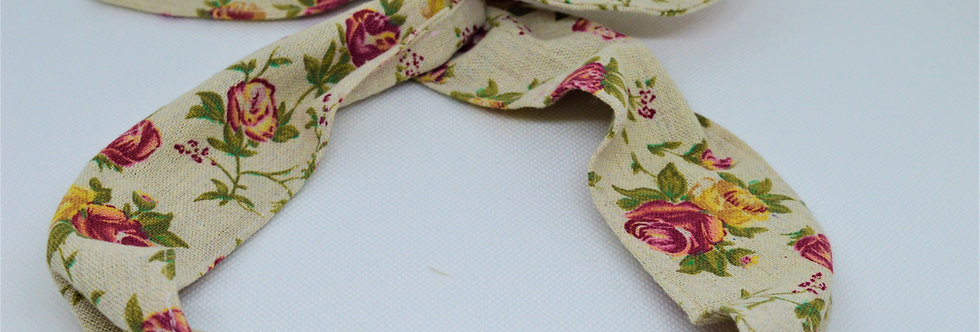 floral style wire headband