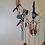 Thumbnail: Boho animal skull wall hanging