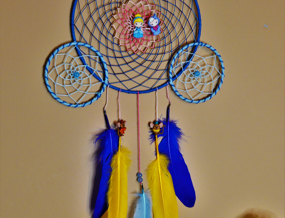 Cinderella inspired dreamcatcher
