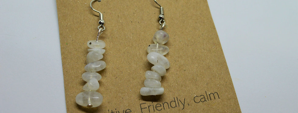 June moonstone earrings