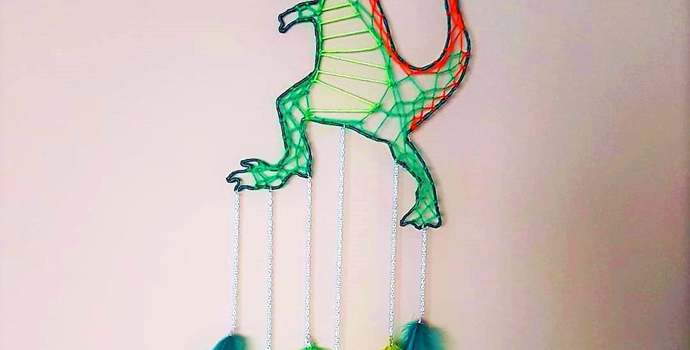 t-rex dreamcatcher
