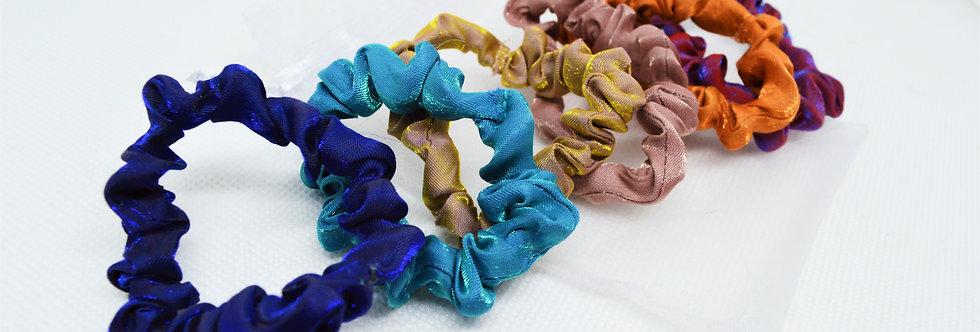 mini scrunchies 6pack