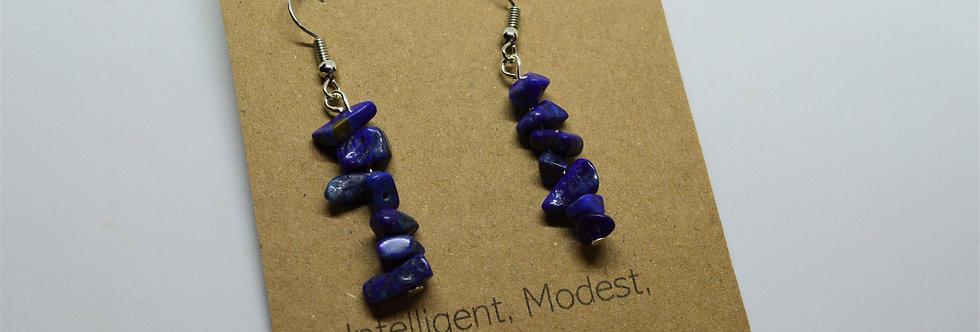 September Lapis Lazuli Earrings