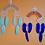 Thumbnail: Rainbow wall hanging