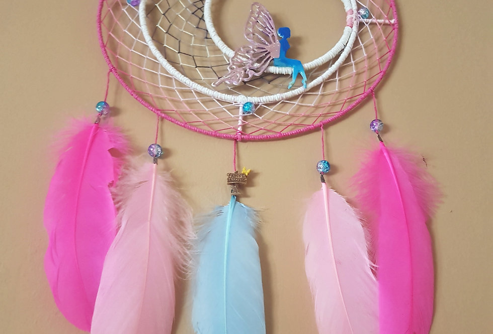 Moon fairy dreamcatcher