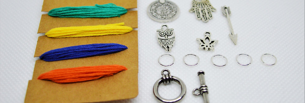 Ankle bracelet/ bracelet DIY kit