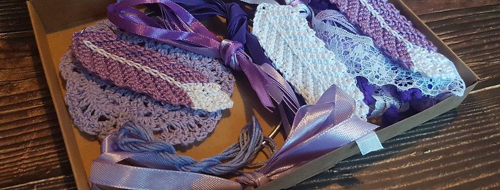 Purple lace dreamcatcher  kit diy