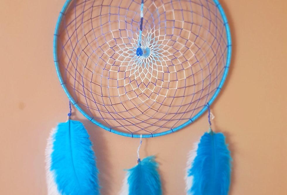 Blue toned dreamcatcher