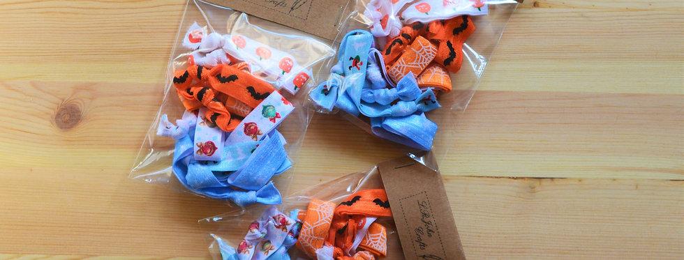 festive hair tie pack