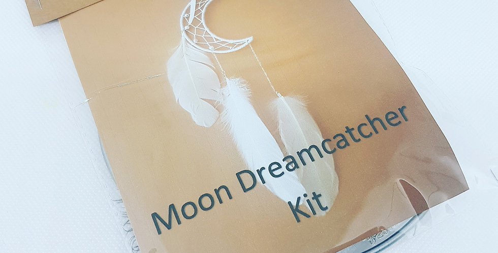 Moon DIY dreamcatcher Kit