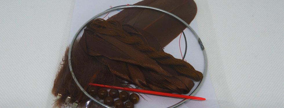 brown dreamcatcher kit