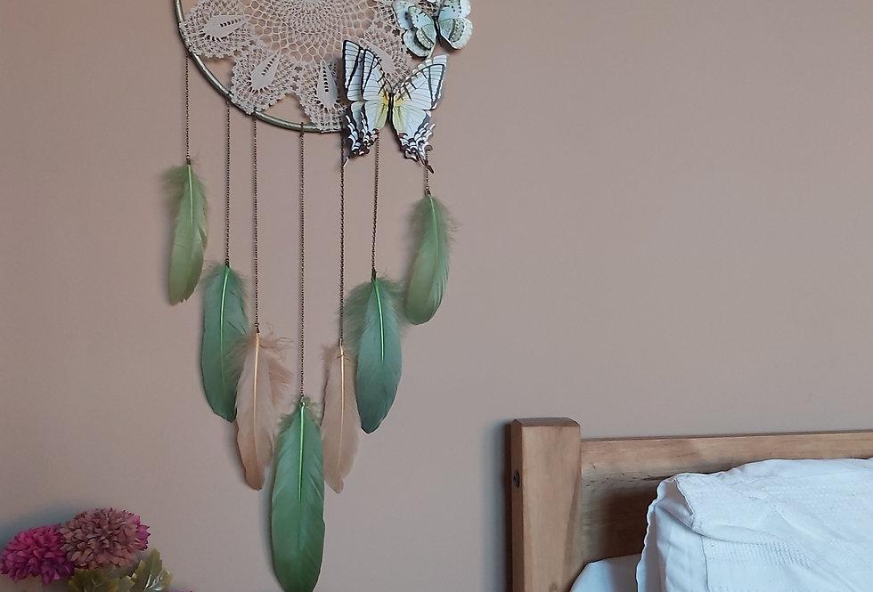Butterfly green dreamcatcher