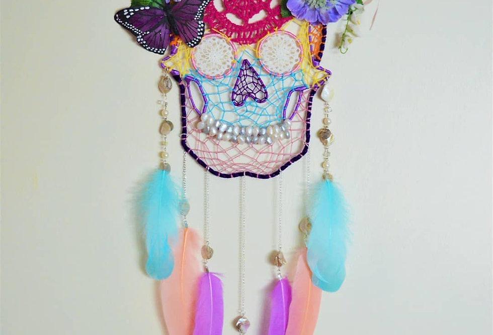 Candy Skull dreamcatcher