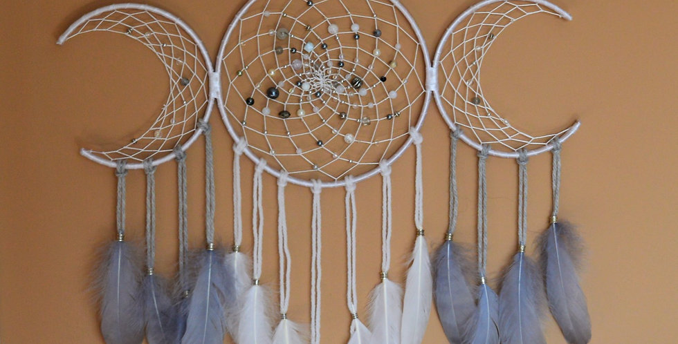 triple moon dreamcatcher