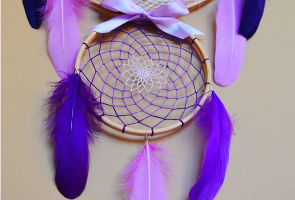 Purple tones dreamcatcher