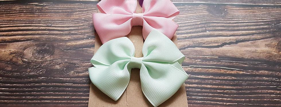 3pcs bow clips