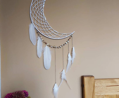 I'm in a white dreamcatcher kind of mood today