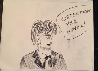 An Audience's Art: Illustrations from The Trial of Typhoid Mary 1915