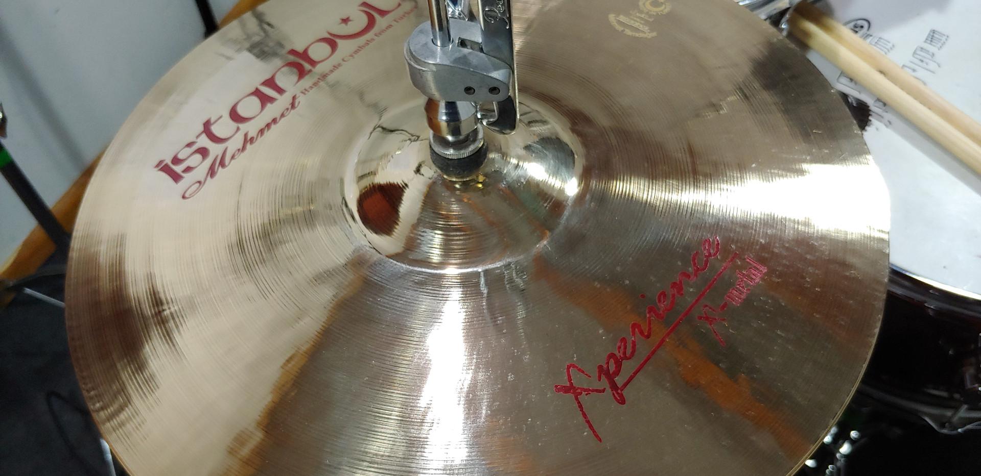 """Hi Hat 14""""  Istanbul X-Perience X-Metal Heavy Thin"""
