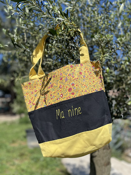 Sac 3 bandes  « Ma Nine »