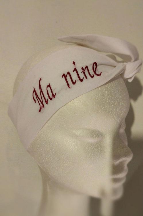 """Headband """"ma nine"""""""