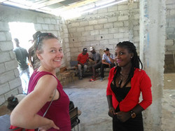 Carrie in Haiti