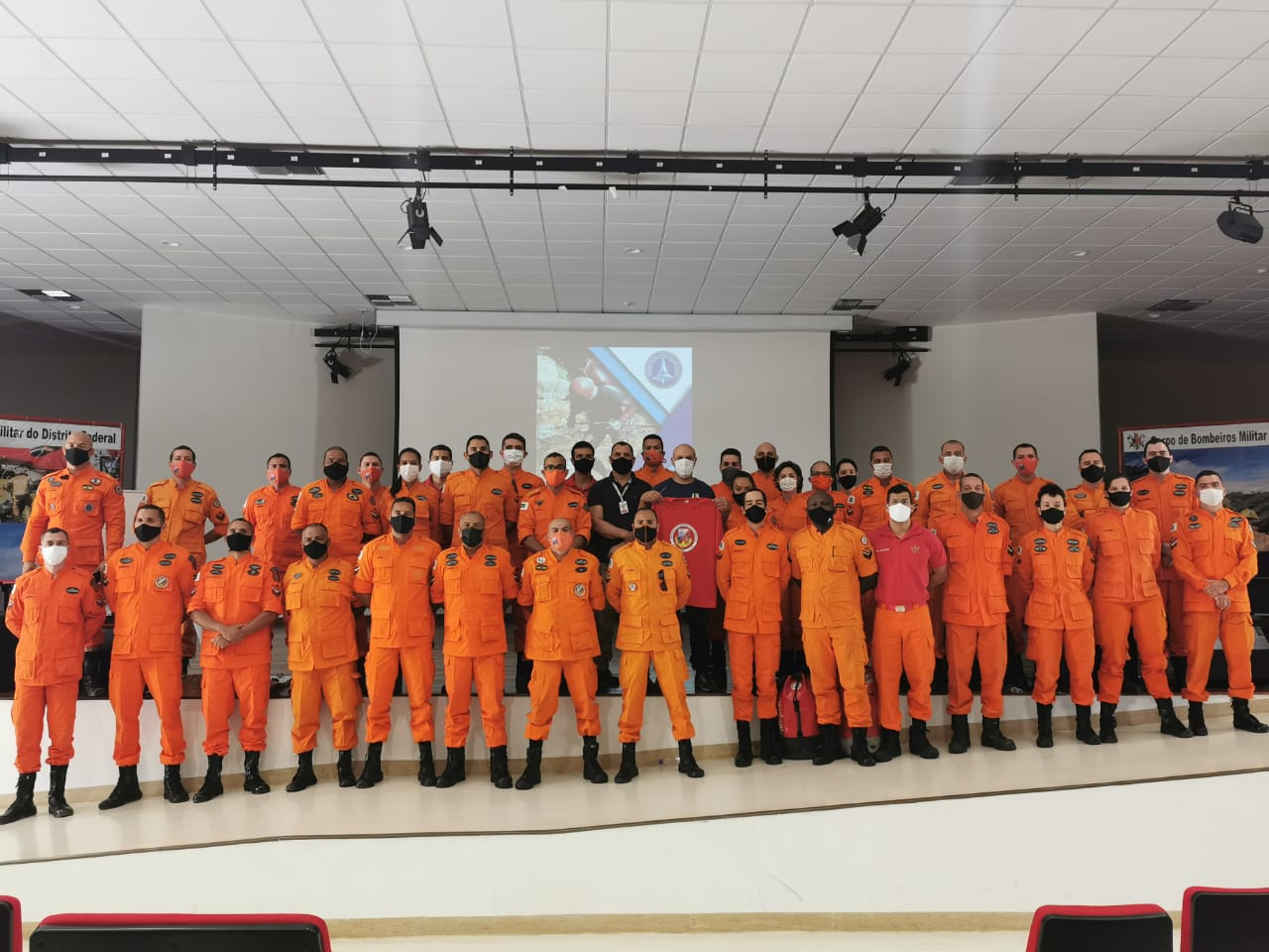Parceria entre o GBS e a Federação Brasiliense de Canionismo