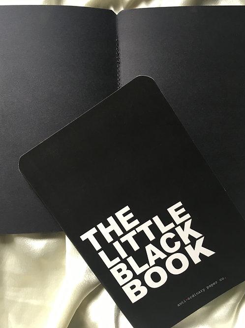 A5 black photo album