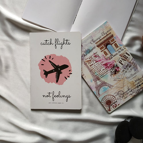 "Anti-ordinary Notepad ""catch flights"""