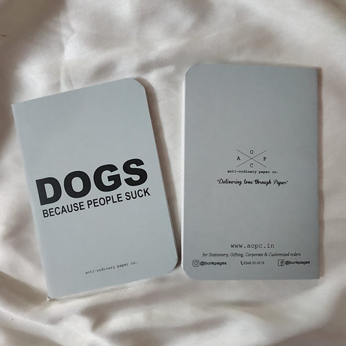 Dogs Pocket Diary