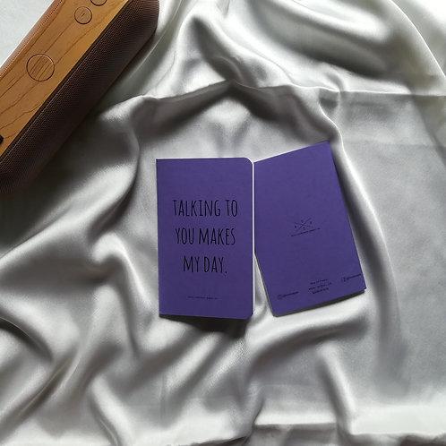 """Anti-ordinary Pocket Diary """"my day"""""""
