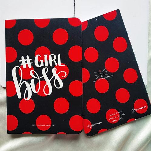 """Anti-ordinary """"Girl Boss""""Notepad"""